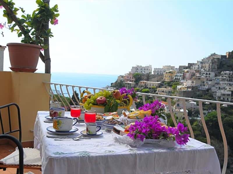 B Amp B Villa Mary Positano Amalfi Coast Bed And Breakfast In