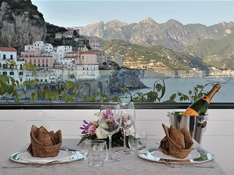 Torre saracena amalfi restaurants in amalfi amalfi coast for Amalfi coast cuisine